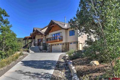 Durango Single Family Home For Sale: 125 Legends Drive