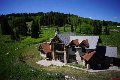 Mt. Crested Butte Single Family Home For Sale: 20 Walking Deer Lane