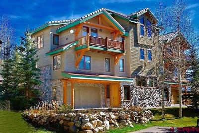 Crested Butte Condo/Townhouse For Sale: 18 Birdie Way
