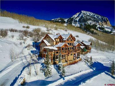 Mt. Crested Butte Single Family Home For Sale: 3 Forest Lane