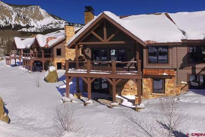 Crested Butte Condo/Townhouse For Sale: 8 Ace Court