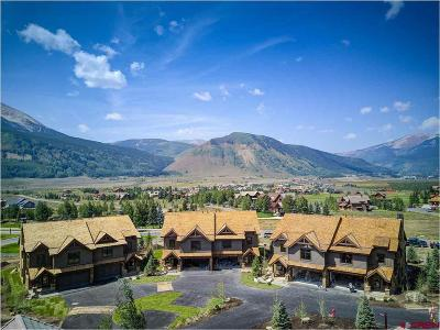 Crested Butte Condo/Townhouse For Sale: 26 Ace Court
