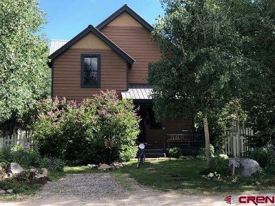 Crested Butte Single Family Home For Sale: 426 Maroon Avenue