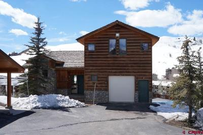 Mt. Crested Butte Condo/Townhouse For Sale: 17 Whetstone Road #3 &