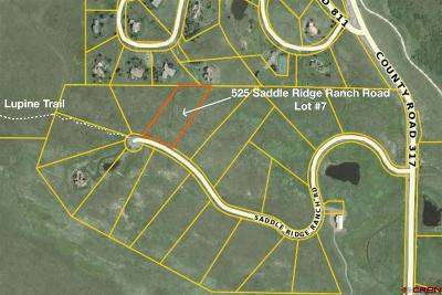 Saddle Ridge Ranch Estates Residential Lots & Land For Sale: 525 Saddle Ridge Ranch Road