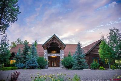 Pagosa Springs Single Family Home For Sale: 4001 Hidden Valley Drive
