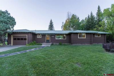 Gunnison Single Family Home For Sale: 1006 Us Highway 50