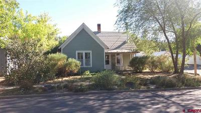 Paonia CO Single Family Home For Sale: $220,000