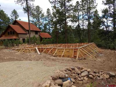 Durango Single Family Home For Sale: 40 Clear Creek Loop