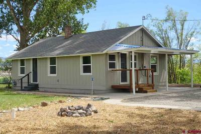 Delta County, Montrose County Single Family Home UC/Contingent/Call LB: 34594 Hanson Mesa Road