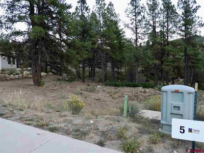 Durango Residential Lots & Land For Sale: 124 Larkspur Street