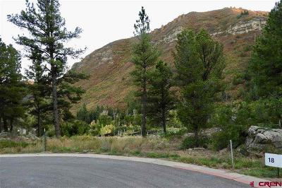 Durango Residential Lots & Land For Sale: 48 Aster Lane