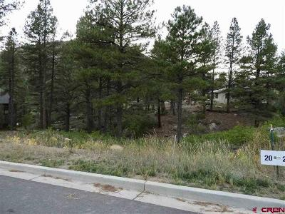 Durango Residential Lots & Land For Sale: 183 Wood Rose Lane