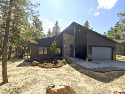 Durango Single Family Home NEW: 135 Hay Barn Road