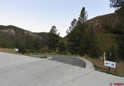 Durango CO Residential Lots & Land NEW: $135,000