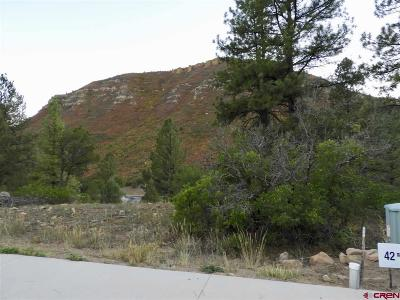 Durango Residential Lots & Land For Sale: 103 Wood Rose Lane