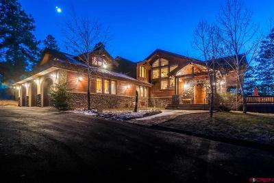 Pagosa Springs Single Family Home For Sale: 387 Bristlecone Drive