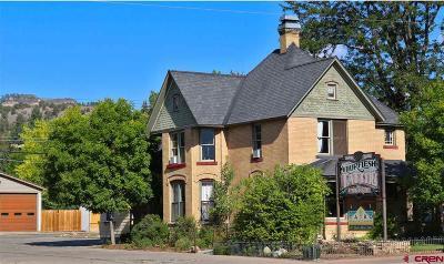 Durango, Bayfield, Cortez, Telluride Commercial For Sale: 1849 Main Avenue