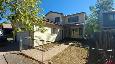 Durango Single Family Home For Sale: 533 E 32nd Street