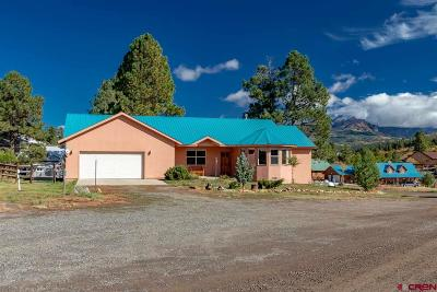 Pagosa Springs Single Family Home For Sale: 49 Cimarrona Circle