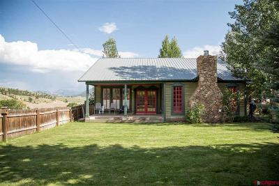 Creede Single Family Home For Sale: 421 Capitol Avenue