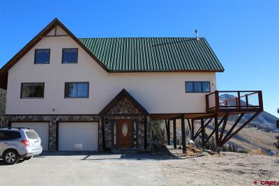 Crested Butte Single Family Home For Sale: 10 Zeligman