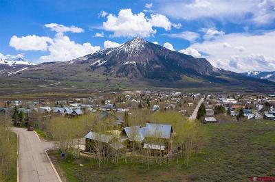 Crested Butte Single Family Home For Sale: 2 Aspen Hill Road