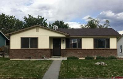 Montrose Single Family Home UC/Contingent/Call LB: 1901 Ouray Drive