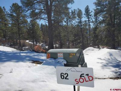 Durango Residential Lots & Land For Sale: 62 Tipple Avenue