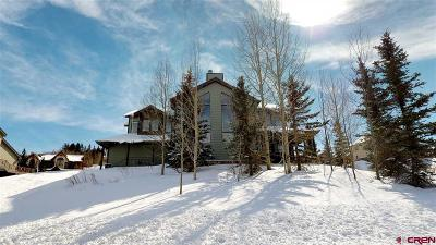 Mt. Crested Butte Single Family Home UC/Contingent/Call LB: 54 Anthracite Drive