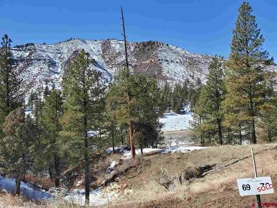 Durango Residential Lots & Land For Sale: 69 Arnica Court