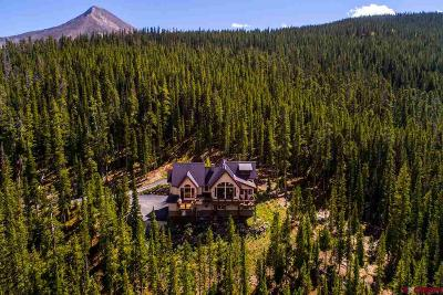 Crested Butte Single Family Home For Sale: 4121 Wildcat Trail