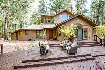 La Plata County Single Family Home For Sale: 76 Saddle Lane