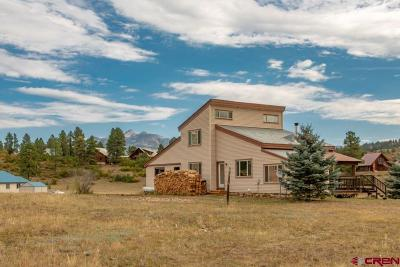 Pagosa Springs Single Family Home UC/Contingent/Call LB: 68 Snow Circle