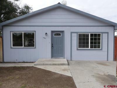 Delta CO Single Family Home For Sale: $160,000