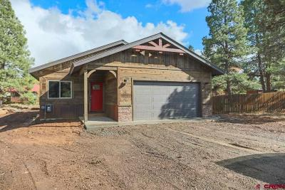 Pagosa Springs Single Family Home UC/Contingent/Call LB: 27 N Birdie Court