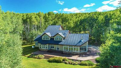 Crested Butte Meadows Single Family Home For Sale: 225 Meadows Road