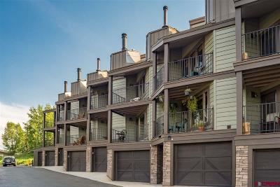 Mt. Crested Butte Condo/Townhouse For Sale: 11 Morning Glory Way #6