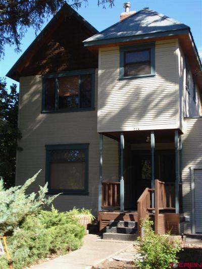 Durango Multi Family Home For Sale: 774 E 3rd Avenue