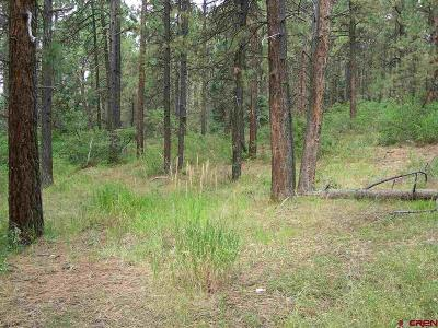 Durango Residential Lots & Land For Sale: 562 Sierra Circle