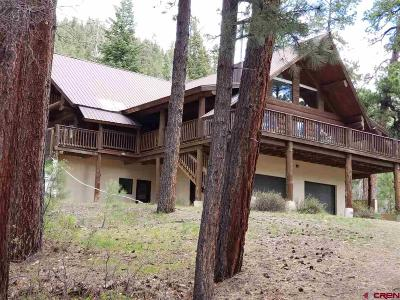 Pagosa Springs Single Family Home For Sale: 572 Bear Run Place