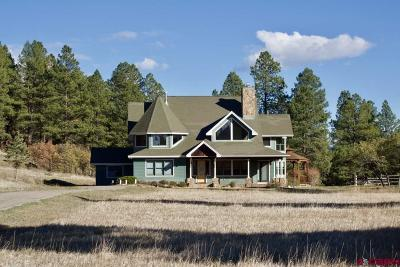 La Plata County Single Family Home For Sale: 13720 Cr 502 #Trails E