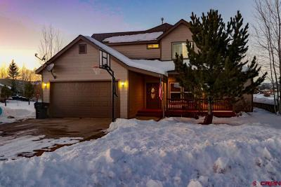 Pagosa Springs Single Family Home For Sale: 182 Luxury Place