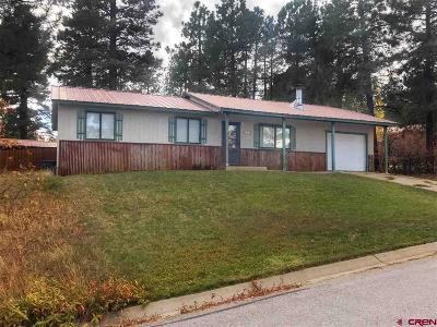 Durango Single Family Home For Sale: 133 Forest Ridge Drive