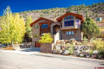 Durango Single Family Home For Sale: 42 Ophir Drive