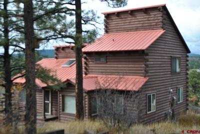 Pagosa Springs Single Family Home UC/Contingent/Call LB: 52 Glenwood Court