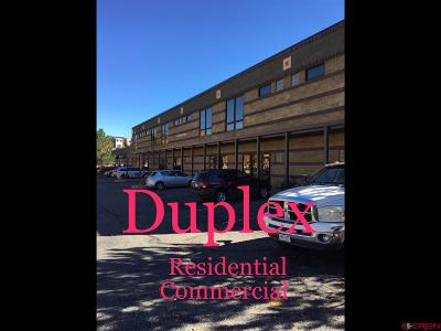 Durango, Bayfield, Cortez, Telluride Commercial For Sale: 150 Rock Point Drive #D