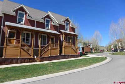 Mt. Crested Butte Condo/Townhouse For Sale: 107 Pitchfork Drive