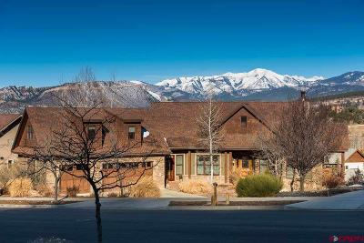 Durango Single Family Home For Sale: 19 Kennebec Drive