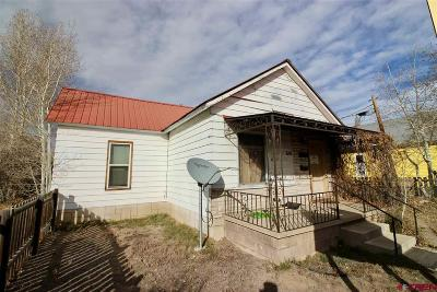 Gunnison Single Family Home For Sale: 610 W Tomichi Avenue